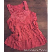 Phenomena Moda Musculosa/ Blusa Roja