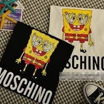 Remera Moschino Bob Esponja Mc Donalds Sponge Jeremy Scott