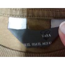2 Remera Zara Basic Hombre Impecables Talle Xl