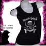 Motorhead Heavy Metal Rock Remera Dama Musculosa Oferta