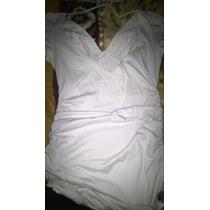 Remera Larga Tipo Vestido Escotada En Espalda