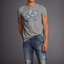 Abercrombie Fitch Remera Original Usa Talle Large Y Xlarge