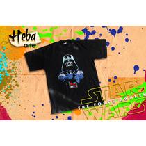 Remeras Star Wars Pintado A Mano