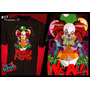 Remera Pennywise It Stephen King Diseño Unico! Transfer