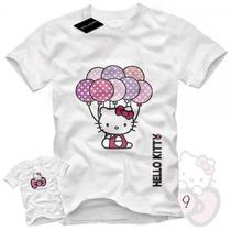 Remeras Estampadas Hello Kitty Malatan 20 Modelos