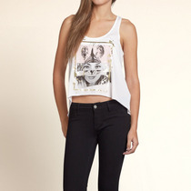 Musculosa De Mujer Hollister Abercrombie & Fitch Talle S