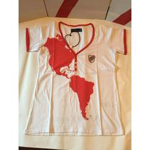 Remeras Dama Copa Libertadores Japon 2015 -river Plate Store