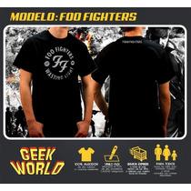 Remeras Rock - Foo Fighters - Geekworld Rosario!
