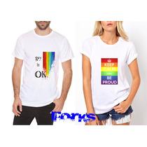 Remera Gay Pride!! Varios Modelo! Todos Los Talles!