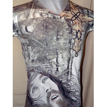 Remera Modelo.mirada Jesus- -religiosa -dark - Punk - Metal