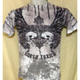 Remera Hombre Mod. Twin Skull- Rockeras - Punk - Metal