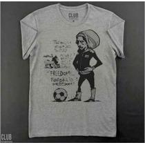 Remera Bob Marley Futbol