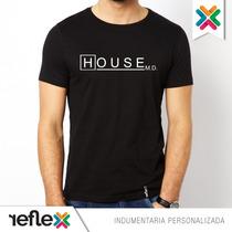 Remera Dr House - 100% Algodón - Calidad Premium