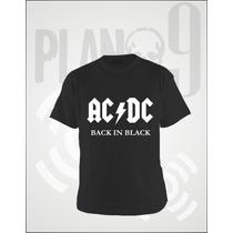 Remeras Estampadas Acdc Ac/dc