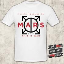 Remeras Rock 30 Seconds To Mars | De Hoy No Pasa|