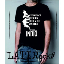Remeras Estampadas Indio Solari