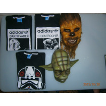 Remeras Adidas Originals Modelos Star Wars Mangas Cortas