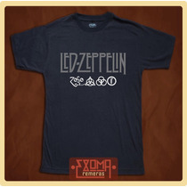 Exoma Remeras Led Zeppelin