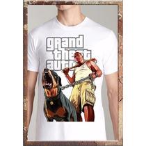 Remeras Videojuegos Gta V Grand Theft Auto Watch Dogs