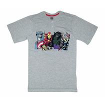 Remeras Marvel !!! Avengers !!! Orignales E Importadas !!!