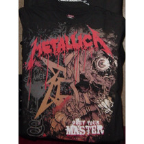 Remera Metallica - Obey Your Master