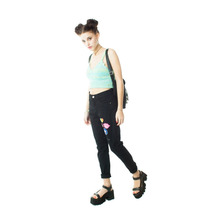 Top Mujer Muaa Crochet Tejido