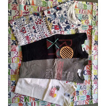 Lote 3 Remeras Importadas De Usa.gap Disney Roxy