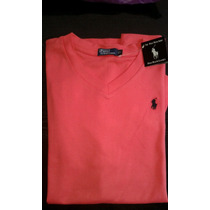 Remeras Polo Escote V