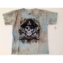 Remera Piratas Del Caribe Original Disney