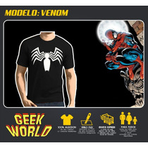 Remeras Superheroes! - Modelo Venom - Getgeek Rosario