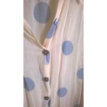 Camisa De Gasa- Transparente
