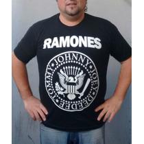 Remeras Ramones - Todos Los Talles - Envios A Todo El Pais