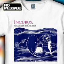 Remera Unisex Estampada Incubus Musica Rock Message