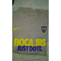 Remera Nike Boca Juniors. Talle L. $360