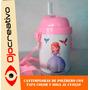 Cantimplora Vaso Termico Con Tapa Con Fotos Para Nenes Color