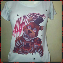 Remeras Five Nights At Freddy