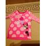 Remera Rosa Nena Original Del Disney Store Minnie Mouse T3/4