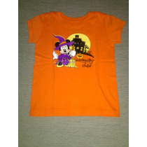Remera Manga Corta Disney Nena Minnie Mosue 5 O 6 Años