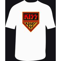 Reptilia Remeras Rock Kiss (código 01)