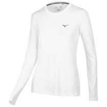 Remera Mizuno Running T-shirt Nirvana Ml Mujer (m413144201)