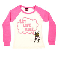 Remera Let Love Rule - Ona Saez Kids