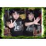 Remeras Bon Jovi Logo Rock Para Niños Algodon Oferta