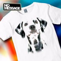 Remera Unisex Estampada Perros Dálmata Animales No Message