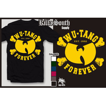 Remera Rap Hip Hop. Modelos Wutang Forever.