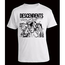 Remera Descendents, Punk, Serigrafía