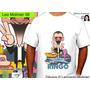 Ringo Starr Beatles Caricaturas Remeras Leo Molinier
