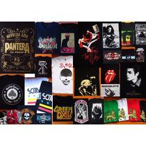 Remeras Estampadas Personaliz. Rock Arte Fabrica Serigrafía