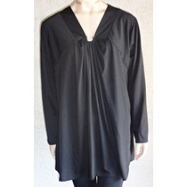 Remeron Vestido Gorditas Ideal Calzas Largo Talle Grande