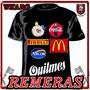 Remeras Estampadas Con Tu Logo O Diseño!!!