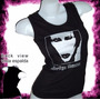 Mm Marilyn Manson Rock Remera Dama Musculosa Oferta